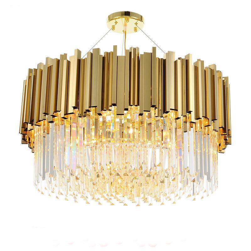 الحديثة الكريستال الثريا الإضاءة تركيبات فاخرة المعاصرة الذهبي الثريات شنقا ضوء للمنزل فندق كريستال الثريا المملكة المتحدة