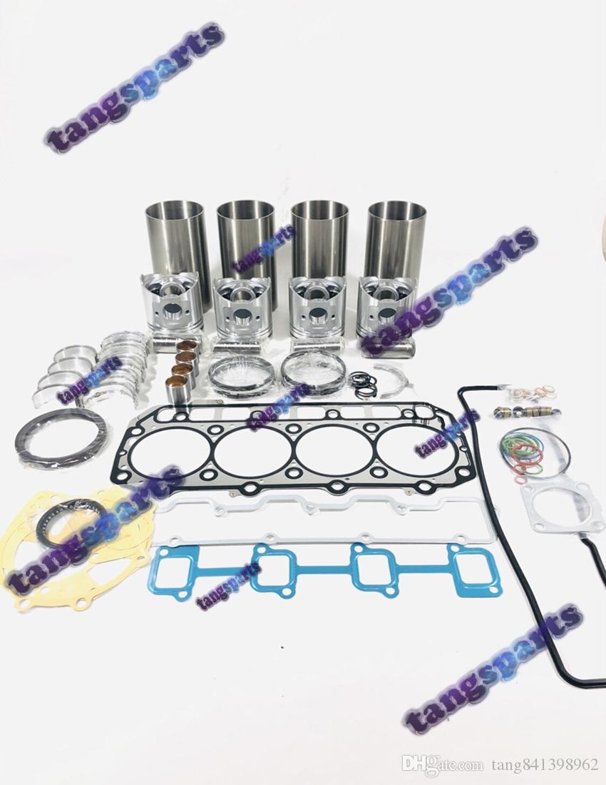 4TNV98 двигателя Перестроить Комплект для YANMAR части двигателя бульдозера Вилочный Экскаватор Погрузчики и т.д. комплекта деталей двигателя