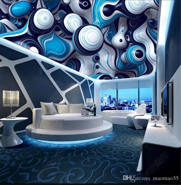 거실 천장 스타 하늘 배경 홈 개선 차원 배경 화면에 대 한 3d 배경 화면을 그림 3D 벽 종이 빈티지 장식