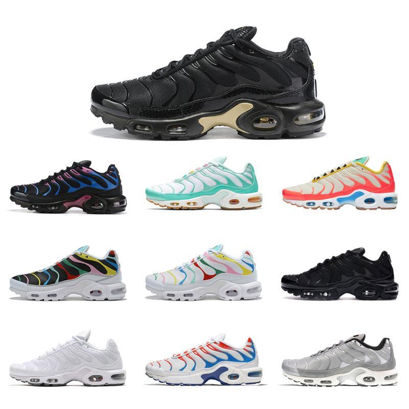 TN Plus SE hombres zapatos Volt Greedy Hyper carmesí Triple Negro de diseño gris neutro deportes para hombre zapatillas de deporte atléticas tamaño 36-45 ejecutan