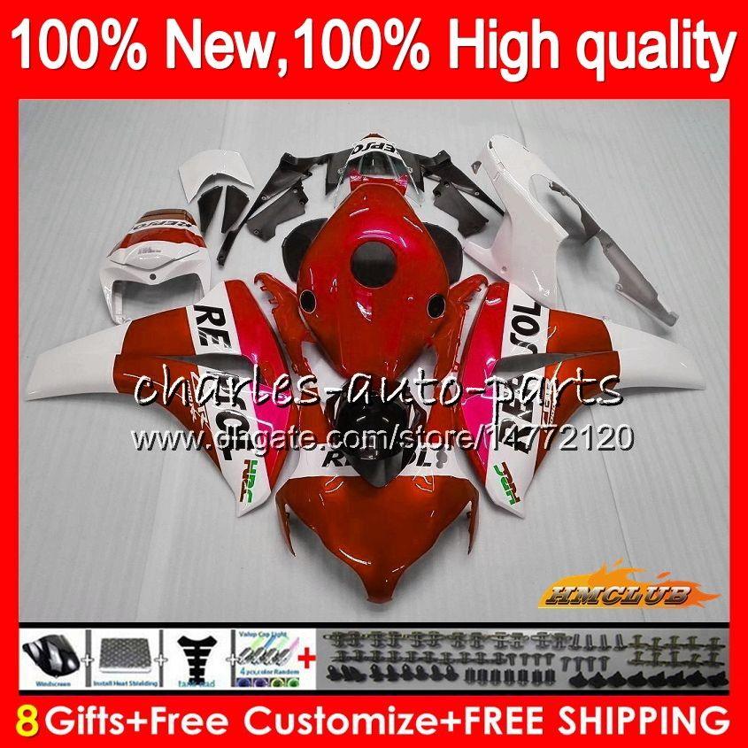 Corpo OEM per Honda CBR 1000 RR CC R 1000CC Kit CBR1000 RR 79HC.69 CBR 1000RR Repsol rosso CBR1000RR 08 09 10 11 2008 2009 2010 2011 carenatura