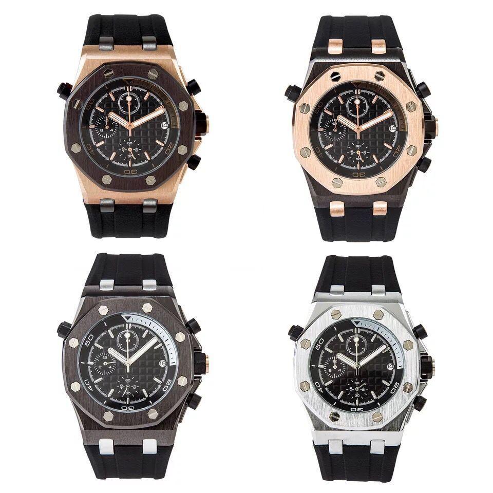 2019 chronomètre haut de gamme montre d'horloge date hommes femmes montre de plongée sports professionnels montres de plongée
