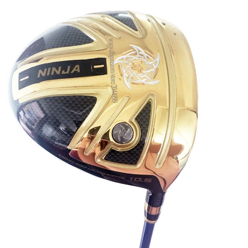 Nouveaux clubs de golf Katana Katana Ninja Clubs de pilotes 9.5 ou 10.5 Loft Golf Golf Driver Driver Driver Driver Driver Driver Coffre-tête Livraison Gratuite
