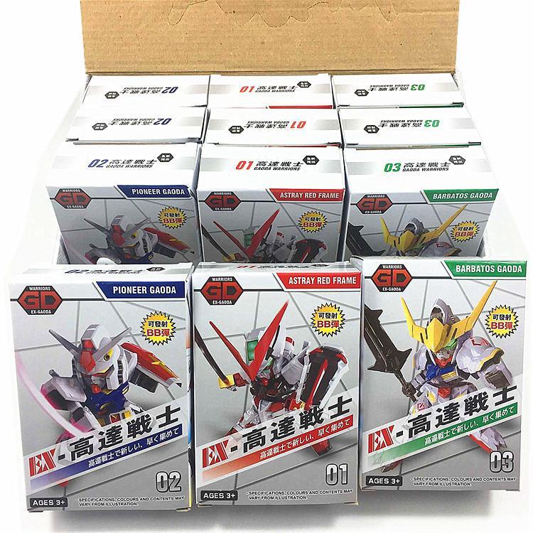 Série de blocs de construction de jouets de déformation jouets King Kong lancement robot de déformation de jouets