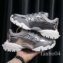 Designer's latest running women's men's casual leather mesh casual shoes 34-45 d0468