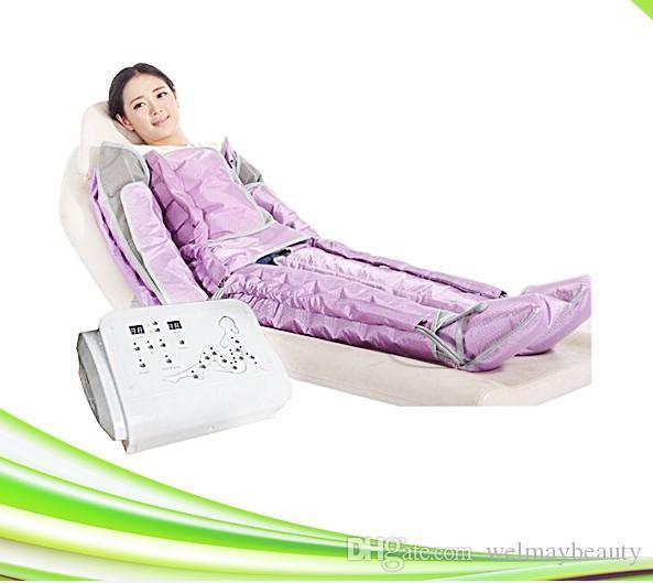 Uso en el hogar portátil uso en el spa máquinas de masaje linfático dispositivo de salón máquina de drenaje linfático presoterapia