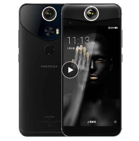 "Original PROTRULY V10S 360 Degree 3D VR 4G LTE Mobile Phone Octa Core Android 7.1 5.5"" FHD 4GB RAM 64GB ROM NFC Fingerprint 16MP"