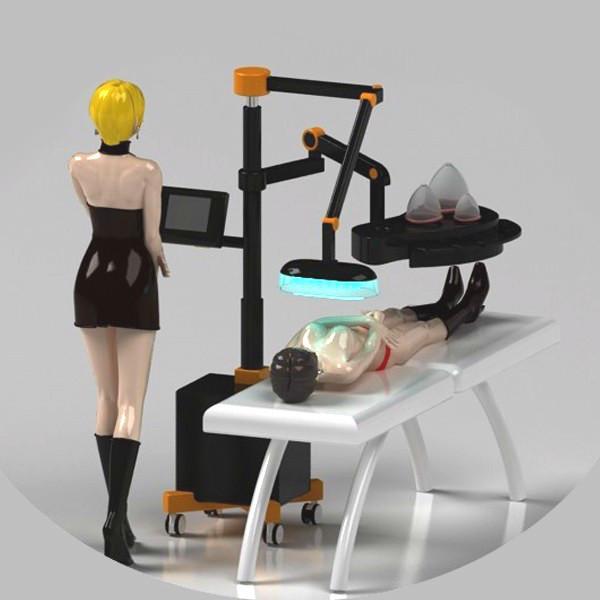 2020 Enhancer Brustvergrößerungs Bruststraffung Saugmassage Maschine Vakuumsauger Cellulite Saugen Brust Durchblutung fördern