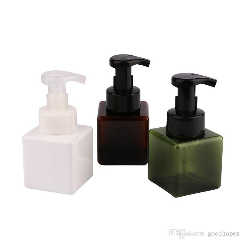 250ml 8.5oz Foaming Hand Soap Dispenser Pump Bottle Foamer Dispenser Lotion Facial Cleanser Shampoo Liquid Foaming Containers