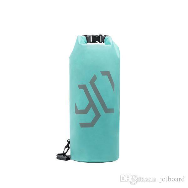 90FUN 10L extérieur Sac étanche pliant portable Sac Messenger épaule sec Paquet pochette de rangement de mijiayoupin - vert