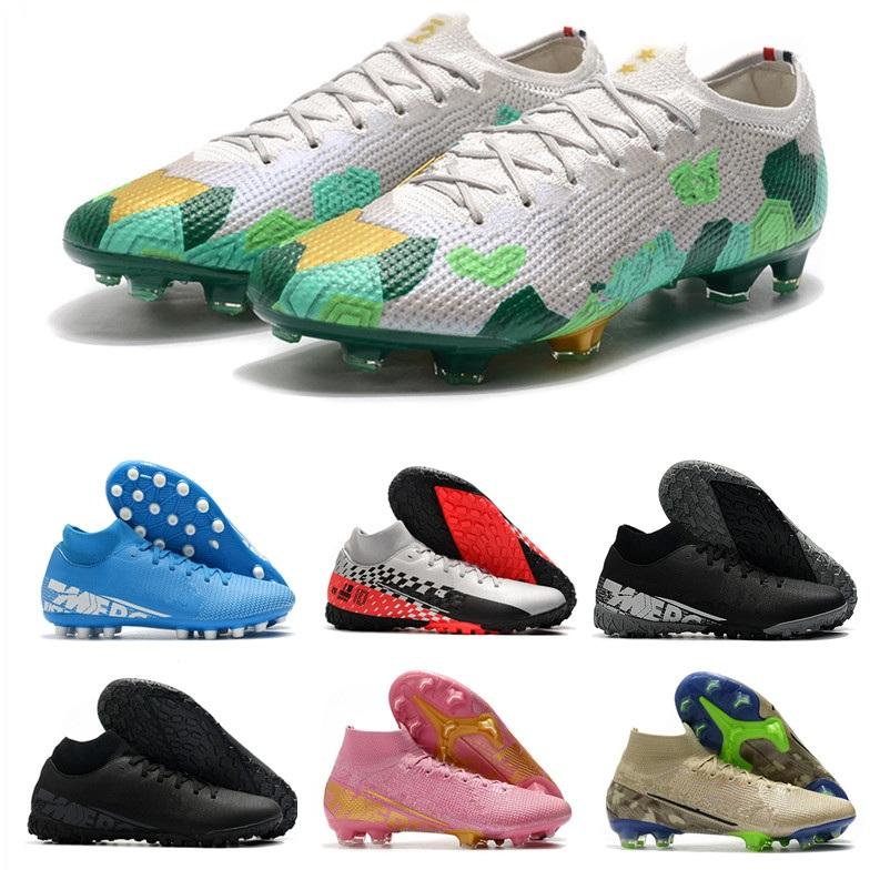 Superfly 7 Academy AG Mercurial Superfly VII Academy TF Football Shoes Men Women Superfly 7 Elite SE Soccer Cleats Sports Sneakers Trainers
