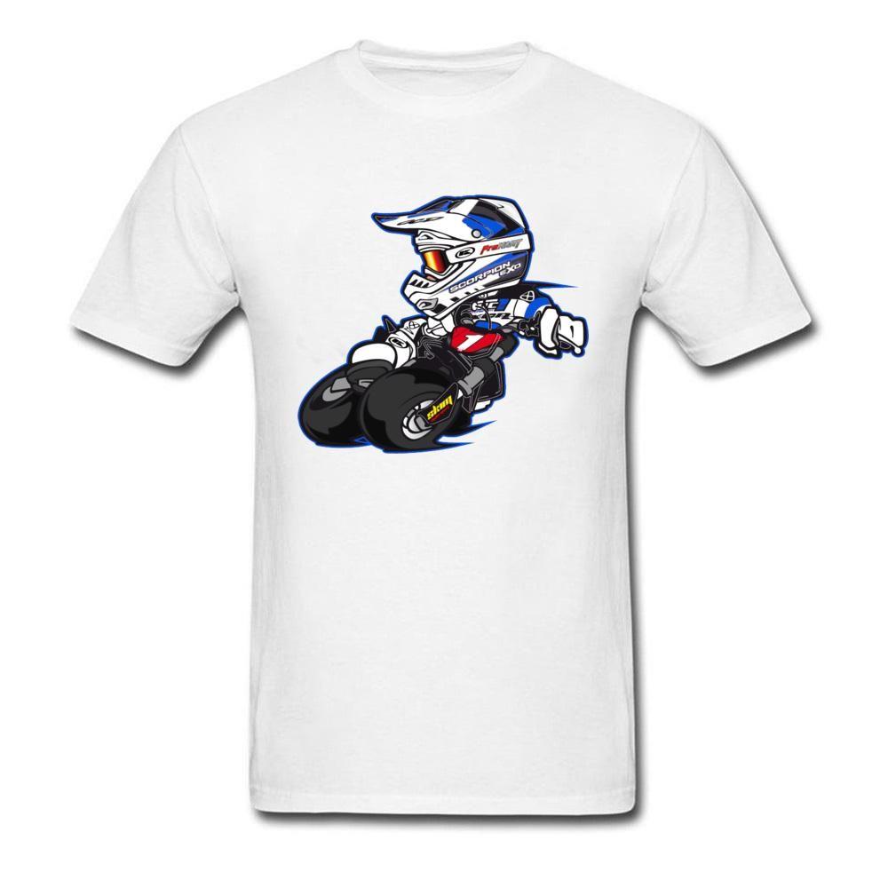 Hop Velocità moda maglietta di marca New Cool V1 Moto GP T-shirt da uomo Motore Racer gioco Vincitore maglietta Hip 100% cotone