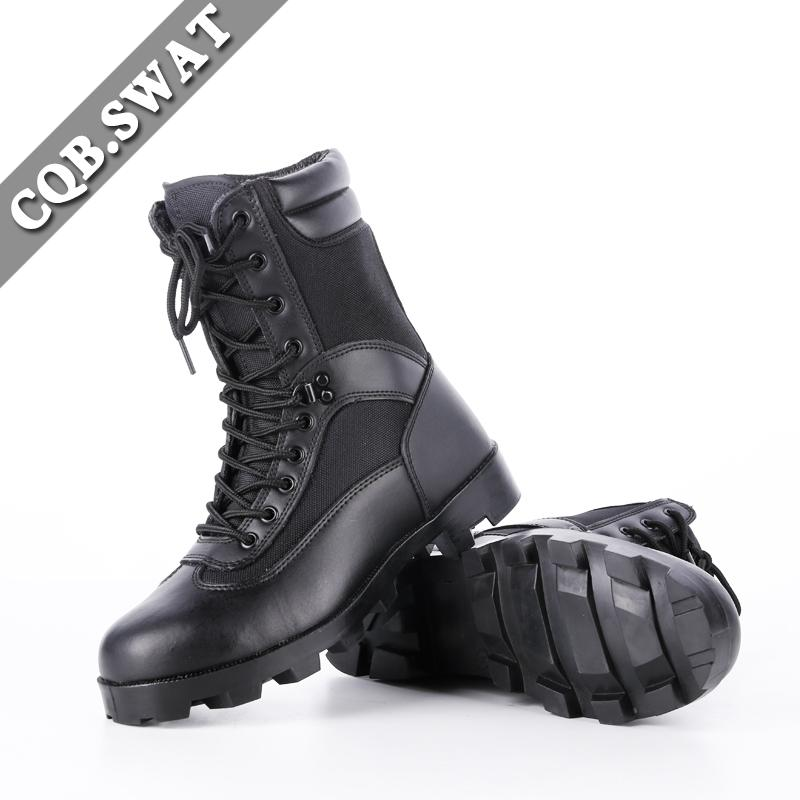 CQB.SWAT الرجال 2018 حقل جديد Ooutdoor العمل أحذية الربيع الأسود القتالي التكتيكي تنفس نقطة بليد أحذية