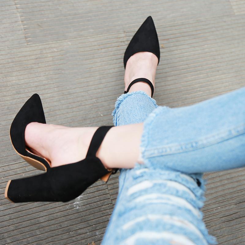 2020 seksi klasik yüksek topuklu kadın sandalet yaz Ayakkabı Bayanlar Strappy pompalar Platformu topuklu kadın Ayak Bileği kayışı Ayakkabı S200114