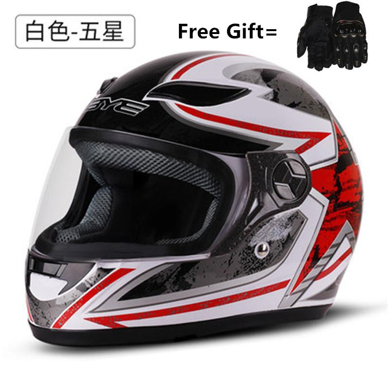 Motorcycle Helmets For Sale >> Bye Motorcycle Helmet Black Moto Full Face Retro Scooter Helmets Motorbike Riding Helmet Men Motocross Casco Moto Red Dot Motorcycle Helmets Dot