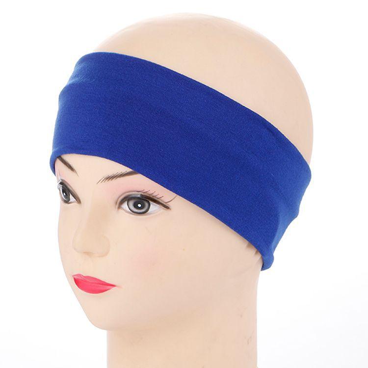 Logo customization High Quality Cotton Sweat Headband For Men Sweatband women Yoga Hair Bands Head Sweat Bands Sports Safety