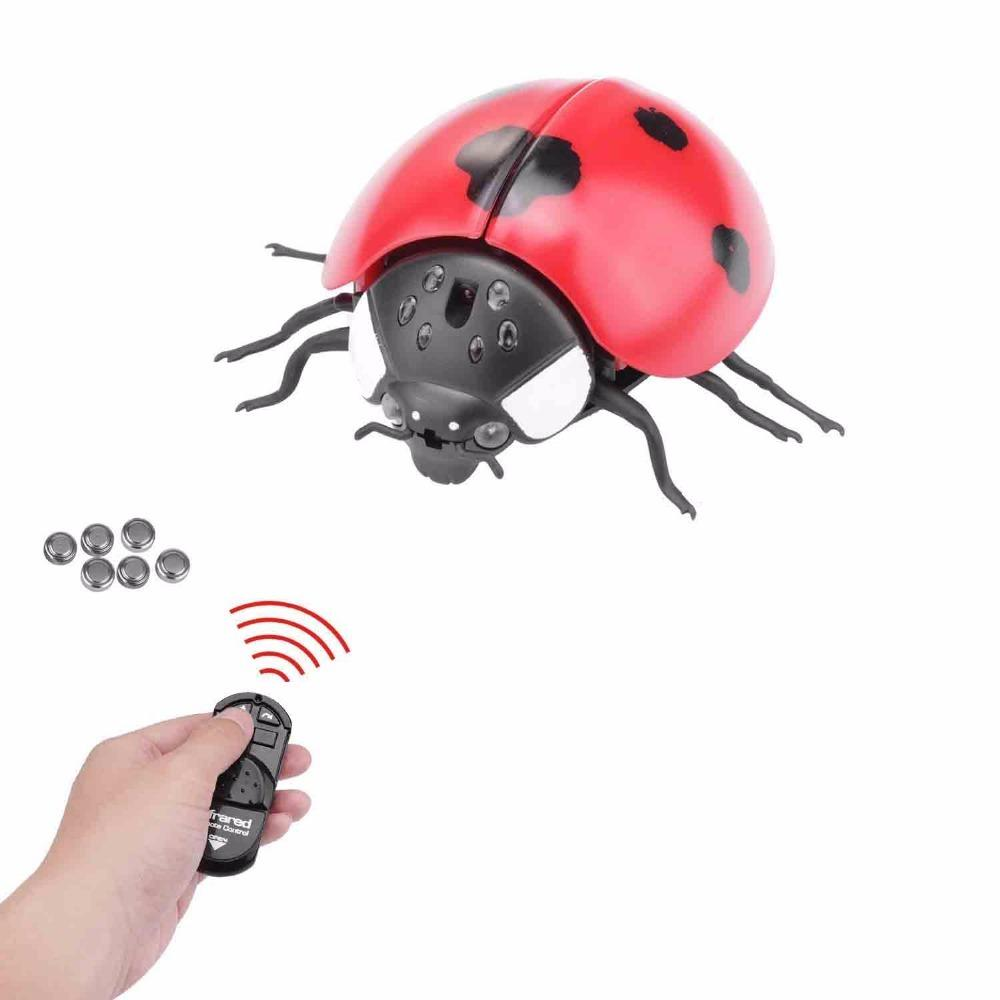 Infrared Electronic RC Animal Simulation Robotic Insect Prank Pet Toys Cockroach for Dog Cat Remote Control Spider Cobra Snake Y200413