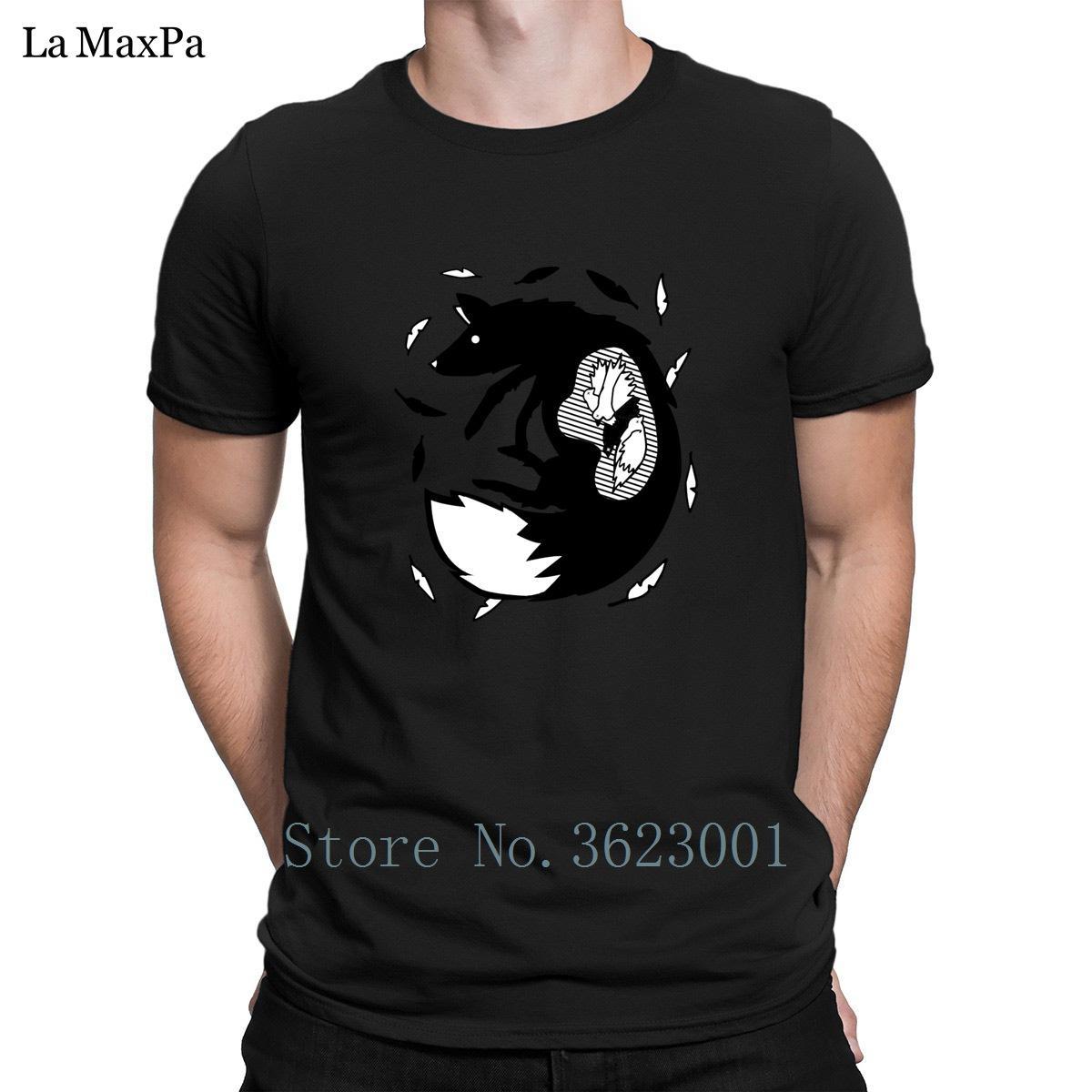 Классическая футболка для мужчин все, что вы можете съесть голодная лиса животное искусство футболка человек мужской футболка Фанки мужская футболка хлопок сумасшедший