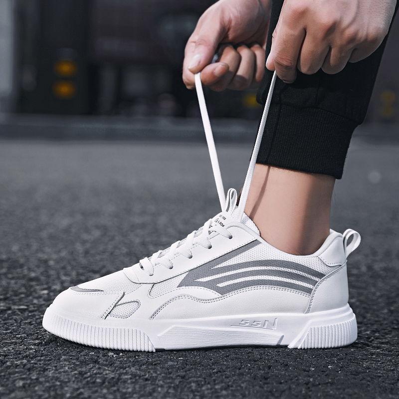 2020 printemps et en été de petites chaussures blanches de chaussures de sport pour hommes respirant étudiants occasionnels de sports marée hommes occasionnels