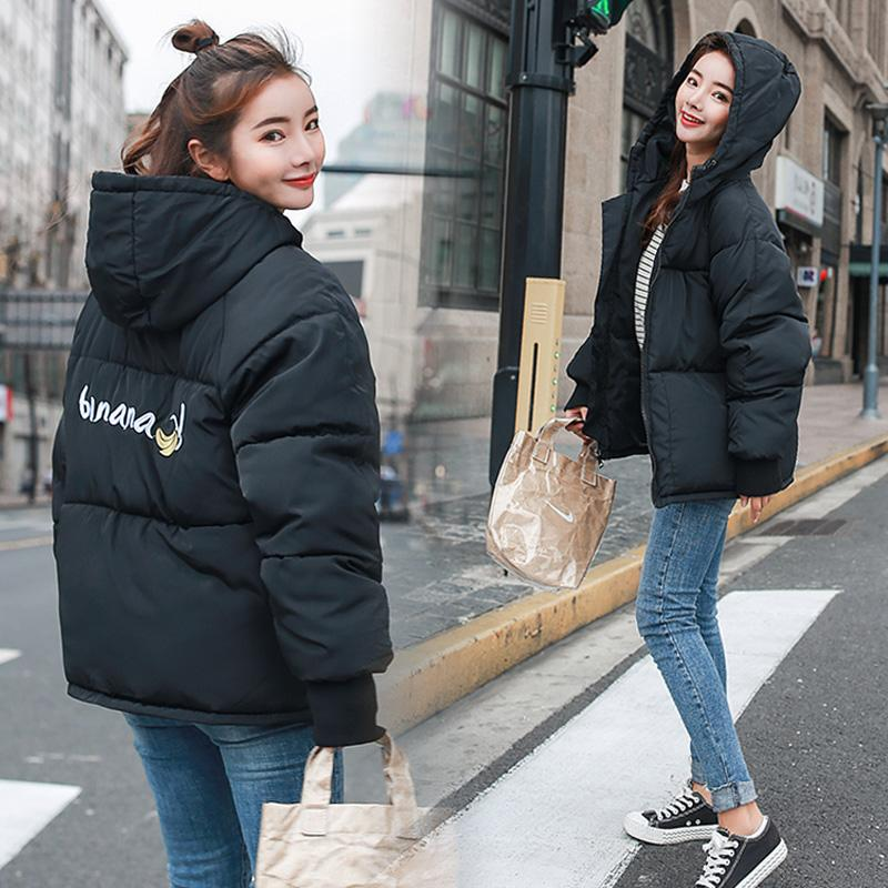 Sonbahar Kış Ceket Kadın Coat Moda Bayan Kış Ceket Kadınlar Parka Sıcak Casual Artı boyutu Palto Parkas 2XL Standı