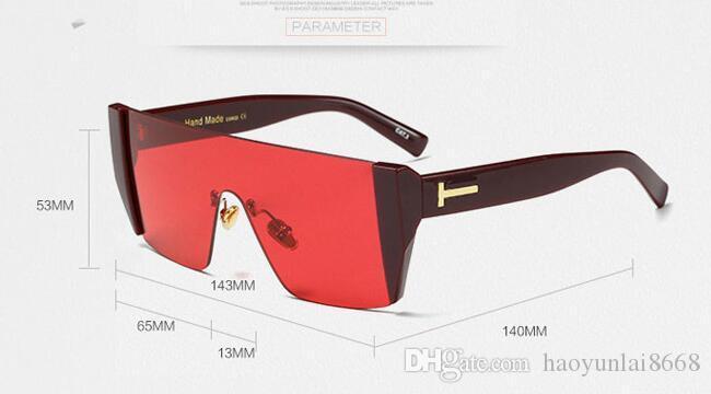 7915849da68b1 Compre Marca Mulheres Homens Tom Óculos De Sol TF97375 Marca Designer Sem  Aro De Luxo Óculos De Sol Óculos Eyewear Frete Grátis De Haoyunlai8668, ...