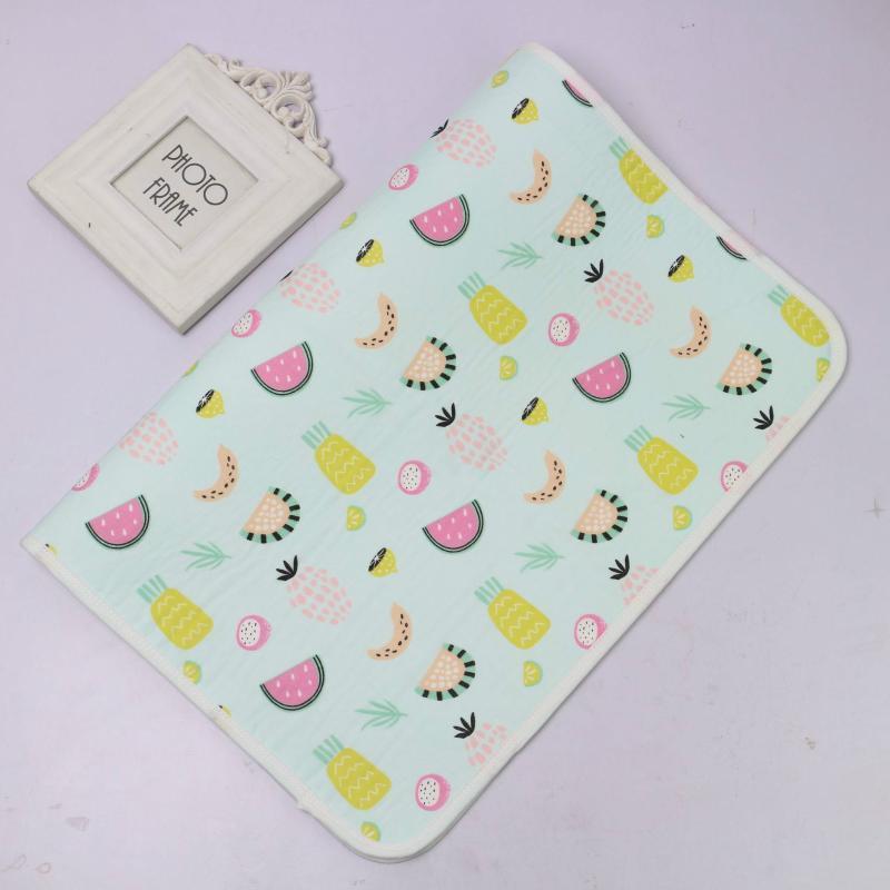 Cambiador para bebés portátil impermeable lavable colchón recorrido de los niños Juego de Tapetes reutilizable Cochecito cojín del pañal 30 * 45 cm