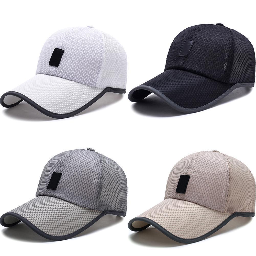 Новая мода открытый летний колпачок мужская сетка бейсболки регулируемые дышащие удобные Snapback шапки Gorras Casquette