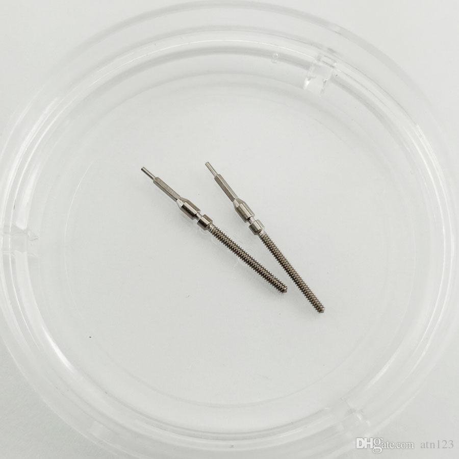 5pcs pièces de montre de kit de tige de mouvement de couronne en acier fit ajustement MIYOTA 8200 P780 mécanique