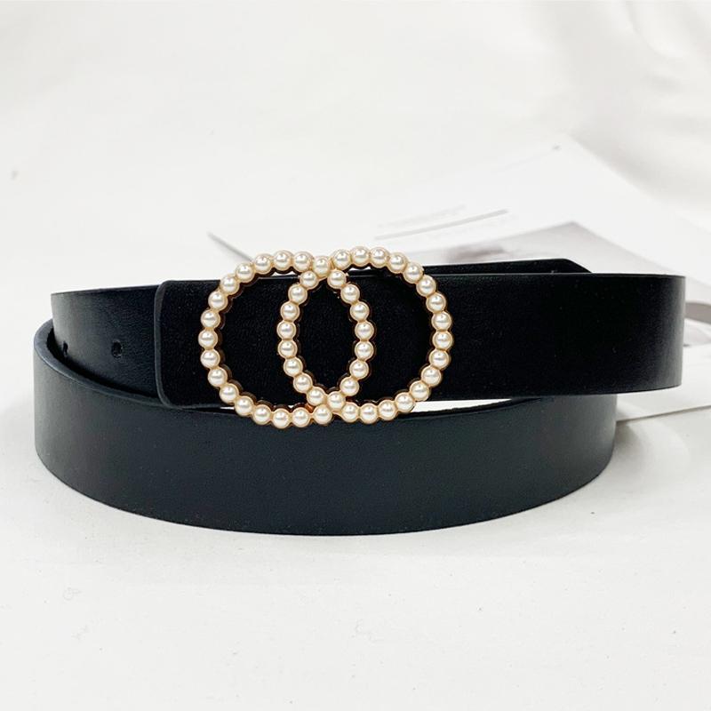 Kadınların bel inci kemer için 2020 moda kemerleri cinturon mujer ceinture femme Riem'deki cinto elbiseler kadın kız bayan