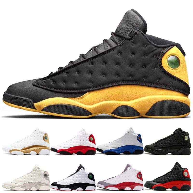Melo Class of 2003 13s DMP Chicago He حصل على لعبة ولدت تاريخ الطيران Black Cat Men Women Basketball Shoes 13s Sports Sneakers