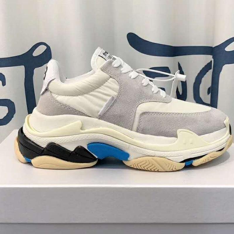 Lujo NUEVA manera mujer de suela gruesa de los zapatos ocasionales de moda Aumentar cómodo de las mujeres s Sports Shoes Casual soles de combinación