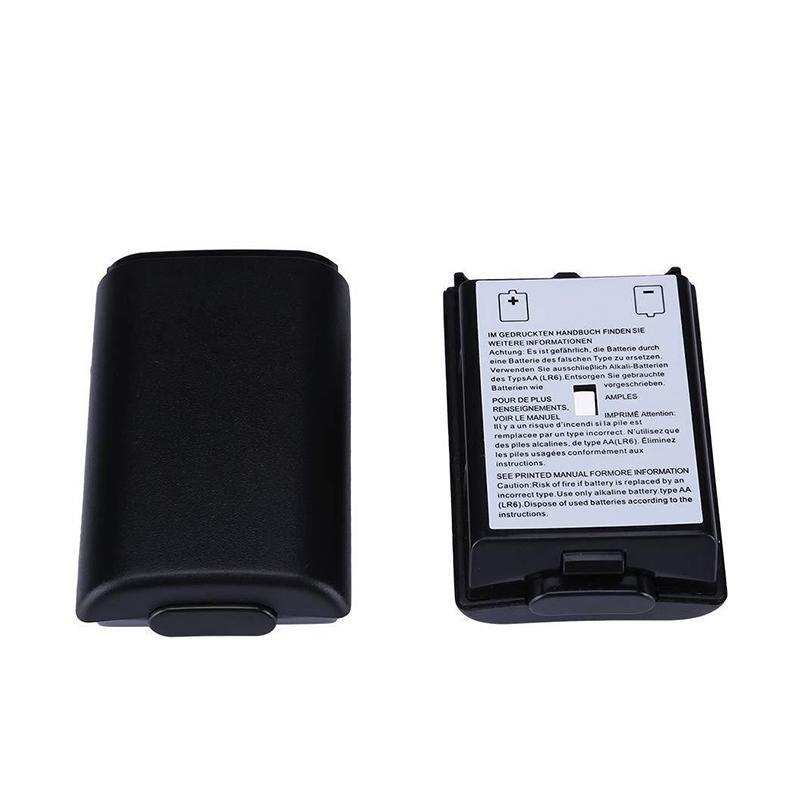 Coperchio della batteria di plastica Pacco batteria Riparazione della parte Sostituzione della parte per Xbox 360