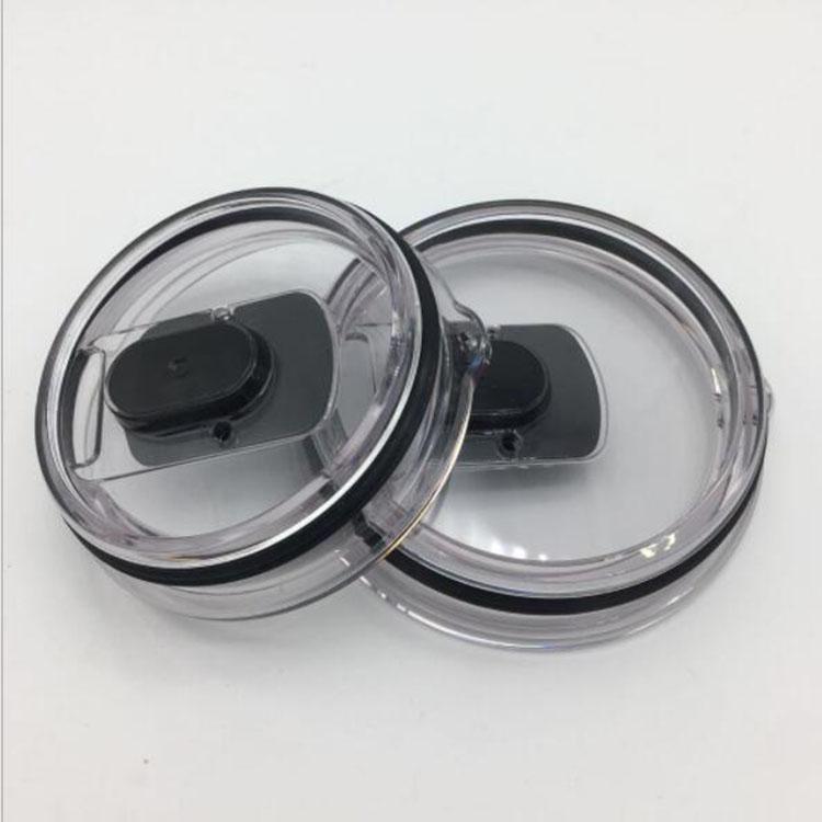 도매 30온스 스테인리스 텀블러 YE 컵 텀블러 자기 뚜껑 자석 투명 뚜껑 커버 자동차 맥주 머그잔 스플래쉬 유출 증거 커버 20온스