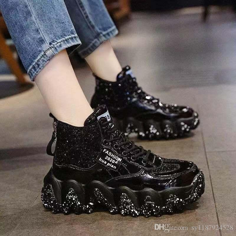 Sequins Casual Shoes Girls Street