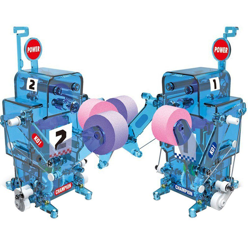 Selbstlade Elektro Roboter Kinder Montage Boxen Roboter-Modell-Spielzeug Kinder-Spielzeug Lernspielzeug