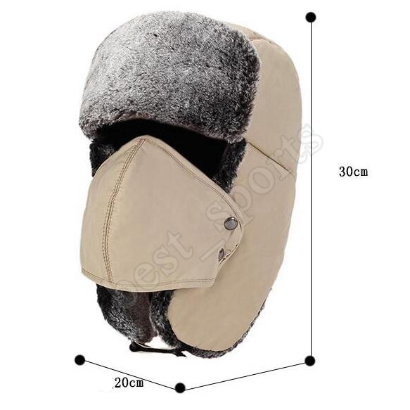 Lucky Leaf Dicke Cossak warme weiche Kappe russischen Stil Winter Hut Ohrensch/ützer f/ür Damen Frauen