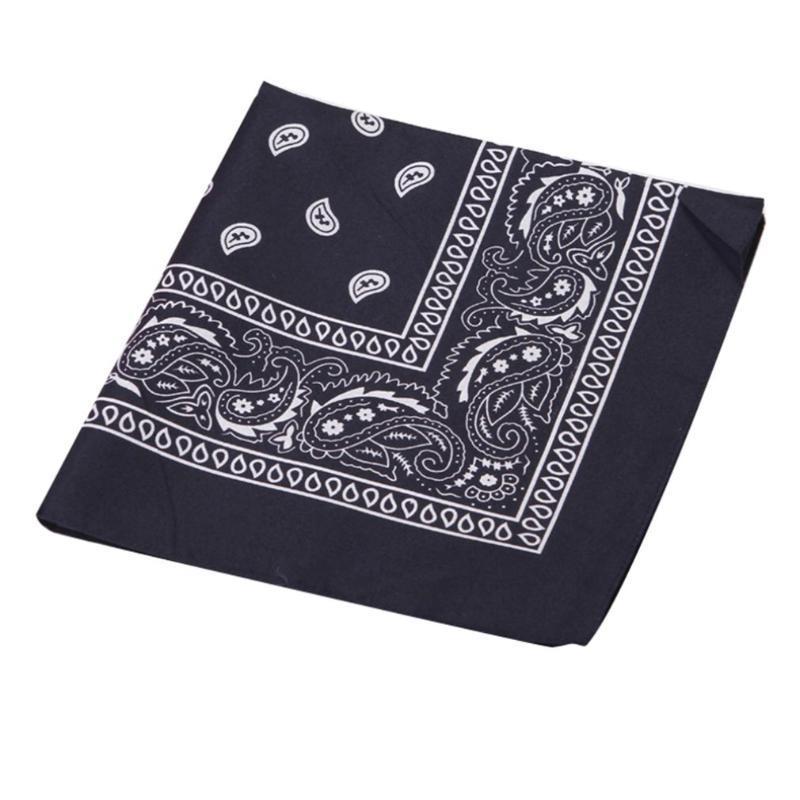1PC neuester 100% Baumwolle Hip-Hop Bandanas nach Männlich Weiblich Kopf Schal Schal Armband Weinlese-Taschen-Tuch Hot Selling
