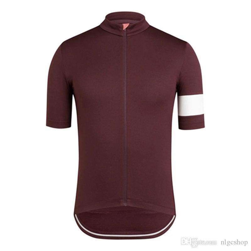 2019 NEW RAPHA Vêtements de cyclisme Manches courtes Cyclisme Maillot Vélo Mountain Racing Vêtements VTT Maillot Ropa Ciclismo Hombre Vélo Shirt 30451k
