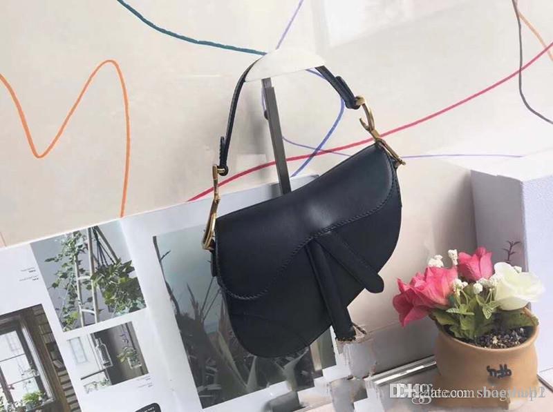 mulheres designer clássicos bolsa bolsa nova carta ombro de alta qualidade couro genuíno mensageiro saco saco de luxo sela