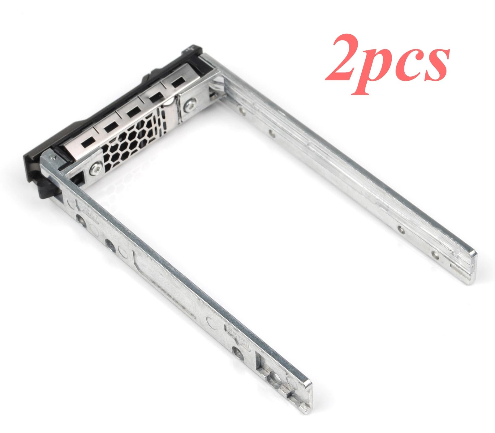"""2.5/"""" Inch SAS SATA HDD Hard Drive Tray Caddy For Dell PowerEdge T710 US Seller"""
