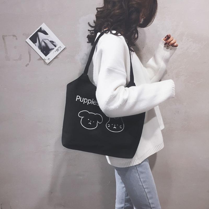 Nuova borsa Canvas Bag Moda Casual Borsa Selvaggio Messenger spalla casuale borsa Sac à main Femme 31