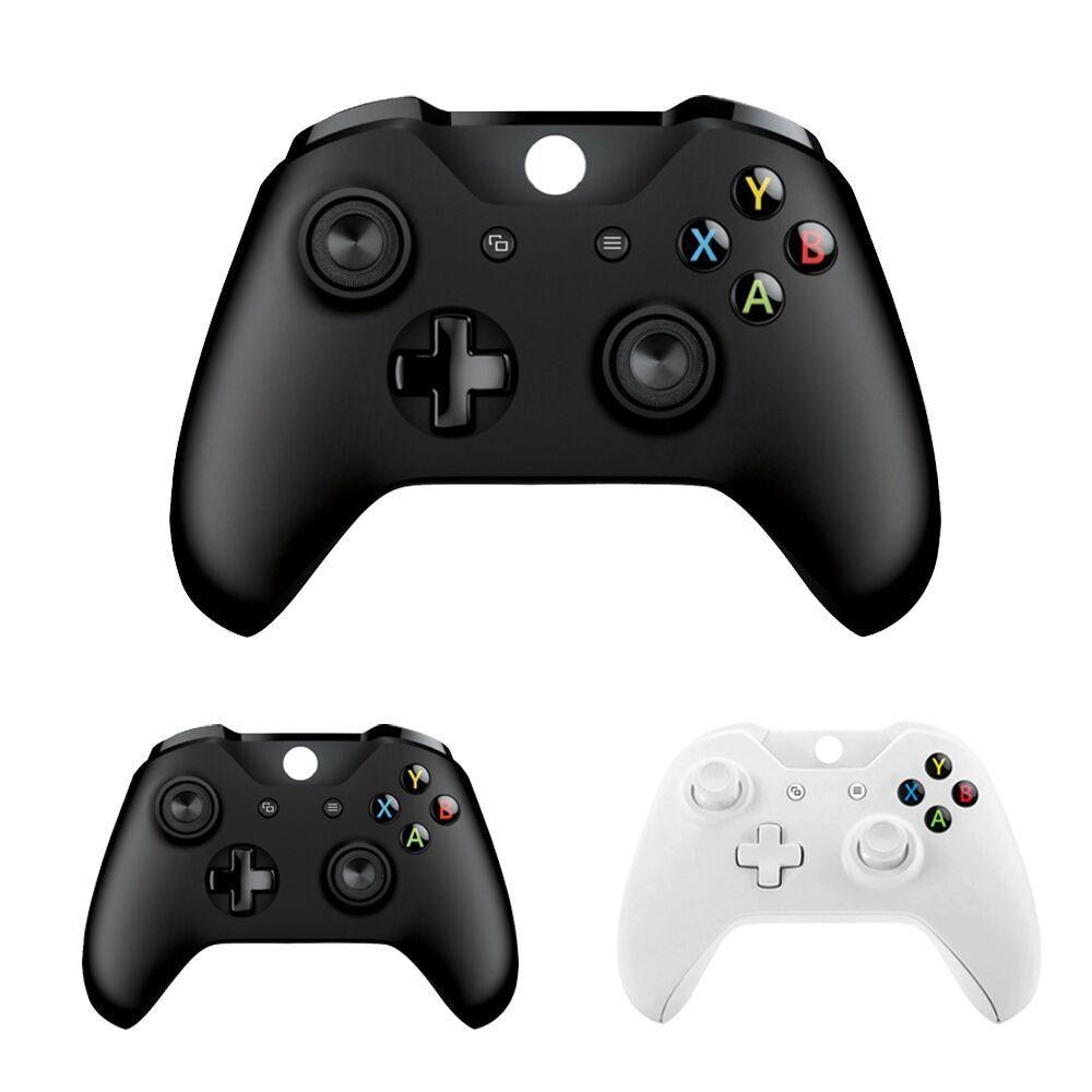 5 Stücke NEUE für Xbox one Bluetooth Wireless Controller für Xbox one Slim Konsole für Windows PC Schwarz / Weiß Joystick