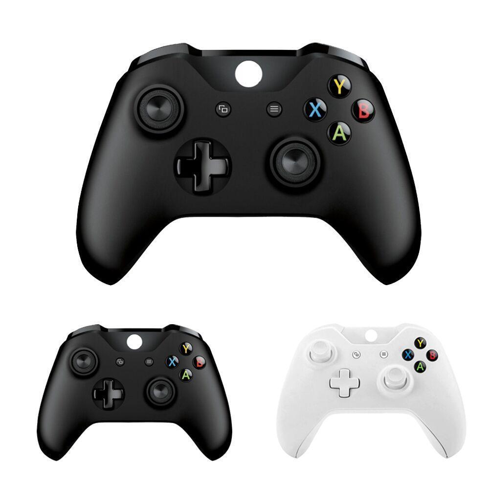 Xbox 를 위한 XBOX 하나 블루투스 무선 관제사를 위한 5PCS 새로운 Windows PC 검정/백색 조이스틱을 위한 Xbox 하나 호리호리한 장치