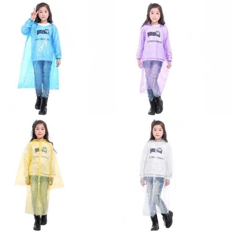 ماء ملابس هود المعطف المطر بسط المعصم المتاح تسلق بد الطوارئ ملابس ضد المطر الأطفال معطف واق من المطر في سوق الأسهم 1 8qh2 E19