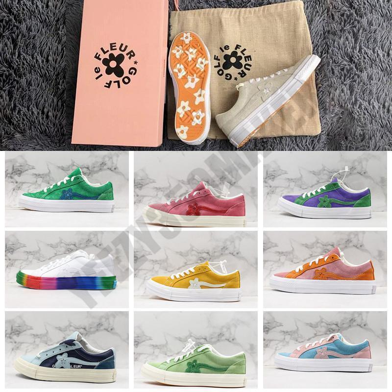 2020 2019 Flower Tyler The Creator X One Star Ox Golf Le Fleur Fashion Designer Sneakers Casual Cavas Shoes 2 Laces Dust Bag From Luxurybag012019 70 76 Dhgate Com
