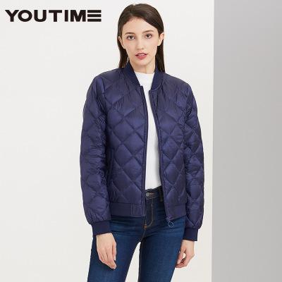 Chaqueta de las mujeres chaquetas de moda Diseñador mujer abrigo color sólido de la cremallera del cuello de manga larga de lujo de vestir exteriores Ropa casual de alta calidad