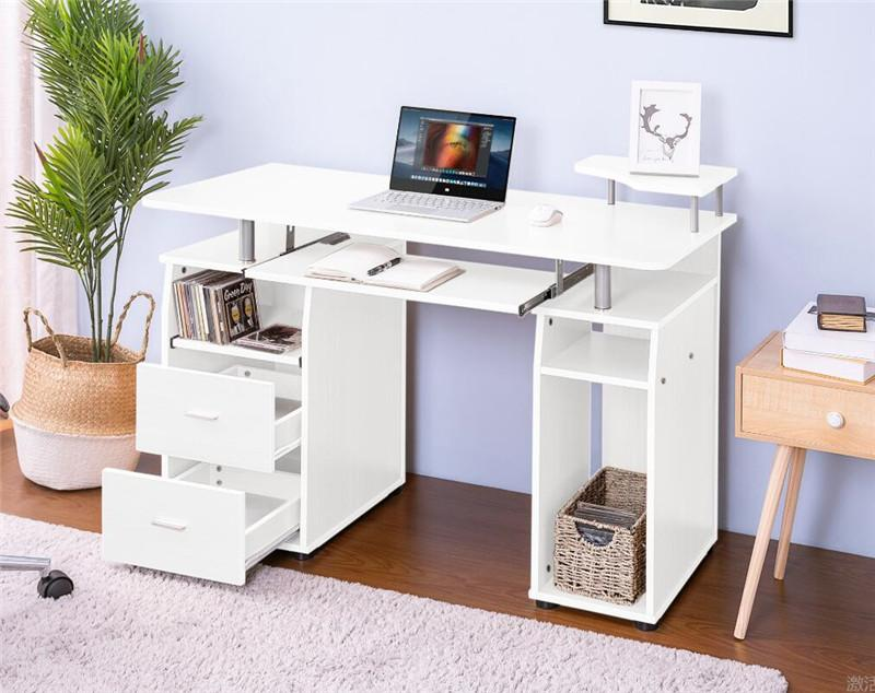2021 Essential Home Office Computer Desk Pull Out Keyboard Tray Drawers Living Room Decoration Furniture Fast Shipping From Greatfurnishing 174 87 Dhgate Com