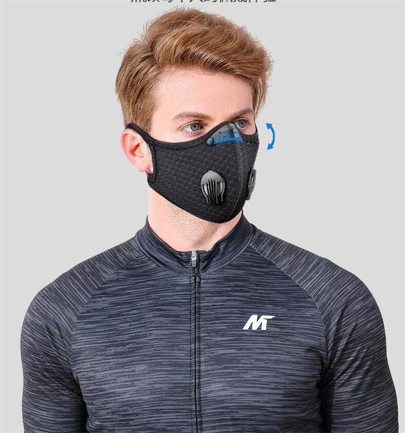 Горячие дезинфицирующей Сменной 5 слойного маска РМ2,5 с активированным углем пыль Pm 2.5 с воздушной маской # QA626