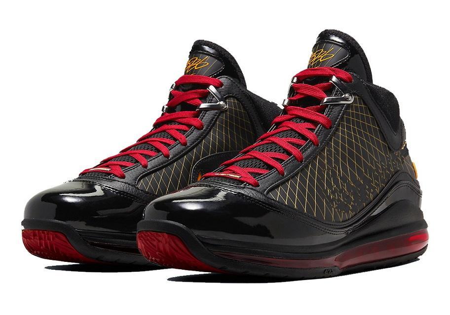 مبيعات الساخنة ليبرون 7 فيرفاكس اسكواش الأحمر مع صندوق جديد رجل إمرأة حذاء كرة السلة تخزين أسعار الجملة size40-46