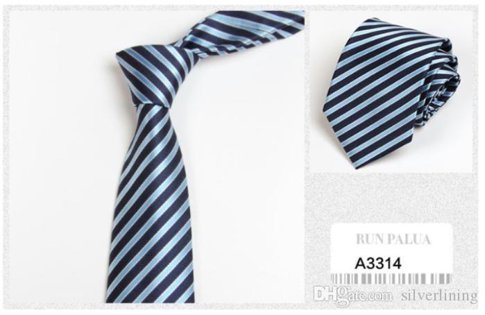 Klassische Designer Krawatten neuen Männer-Riegel-Krawatte Freizeit-Art-Streifen Krawatten Men In Krawatten werden für Business Office wokers Students Dressed